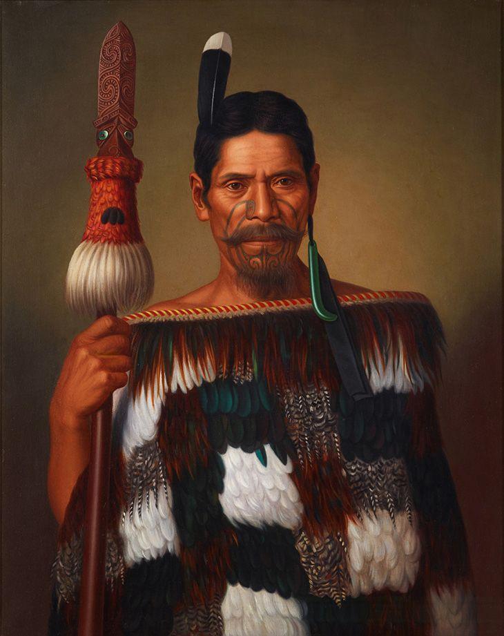 The Maori Portraits by Gottfried Lindauer