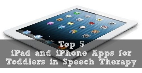 Top 5 iPhone/iPad Apps for Toddlers in Speech Therapy #iphone #ipad #iOS #kids #Apps #learning
