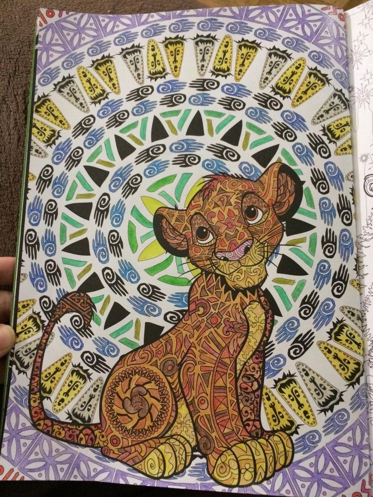 disney animals coloring book for adults 17 best images about coloring books colored on pinterest