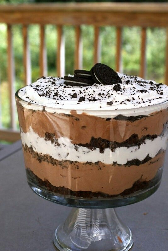 how to make oreo trifle