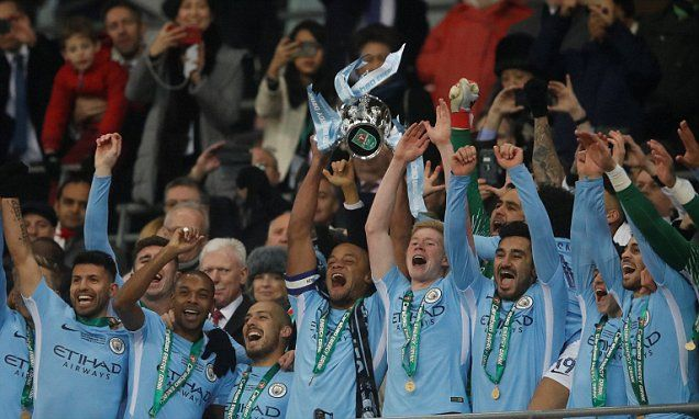 Arsenal 0-3 Man City: Pep Guardiola wins first trophy with City