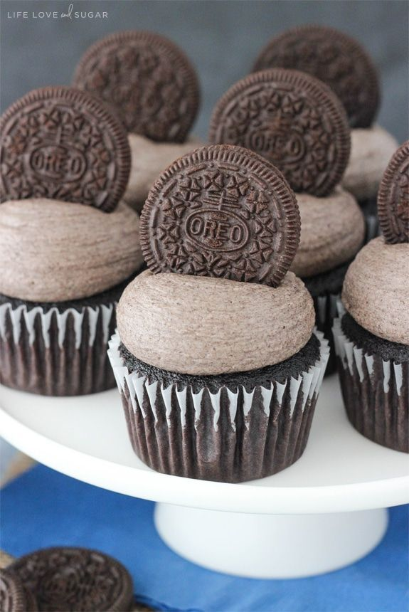 oreo chocolate cupcakes oreo frosting frosting recipes cupcake recipes ...
