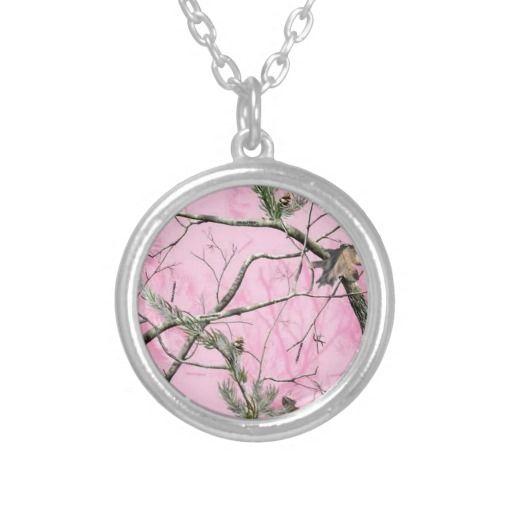 Pink Camo Jewelry