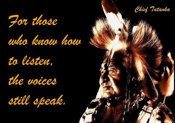 Weise Zitate Indianer