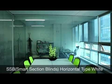 Vitswell SSB(Smart Section Blinds) Horizontal Type