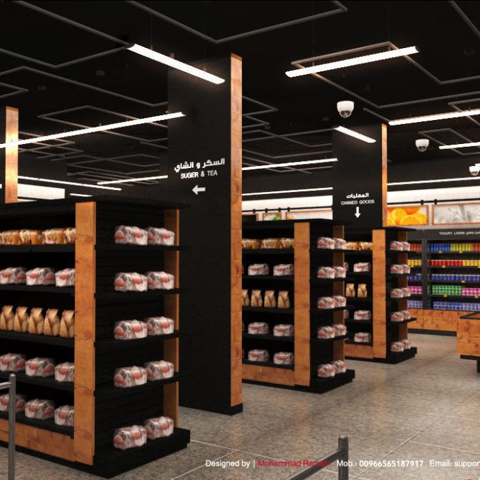 Amazon Go Supermarket Interior Design 3d Model Supermarket Design Restaurant Interior Design Shop Interior Design