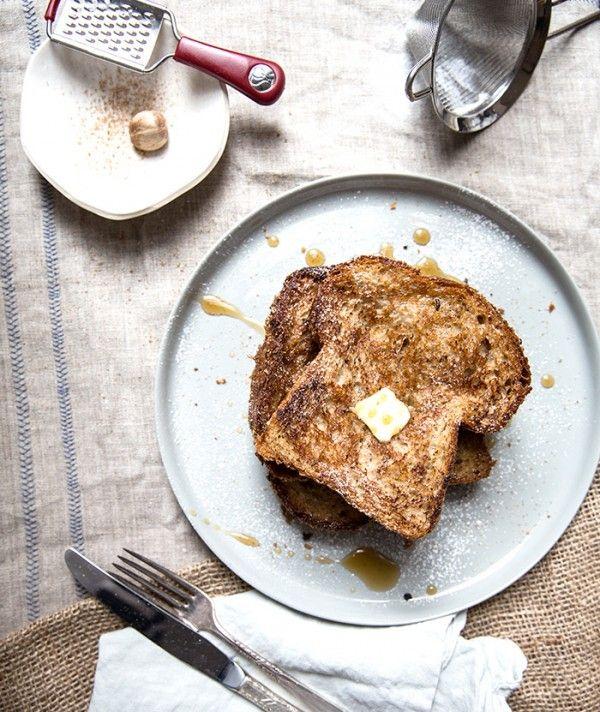 Eggnog French Toast   Real Girls Kitchen Haylie Duff