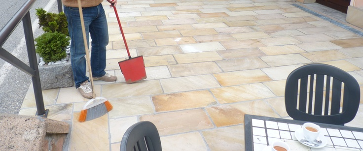 Mint Natural Sandstone Outdoor paving