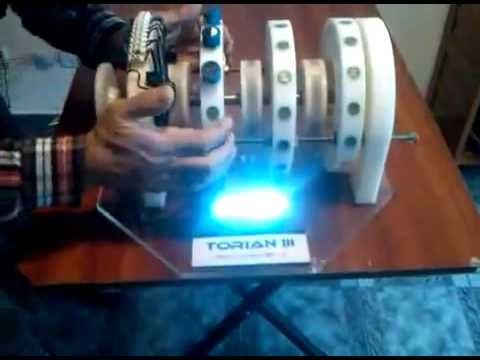 Permanent Magnetic Motor from Argentina. A self running, free energy generator!
