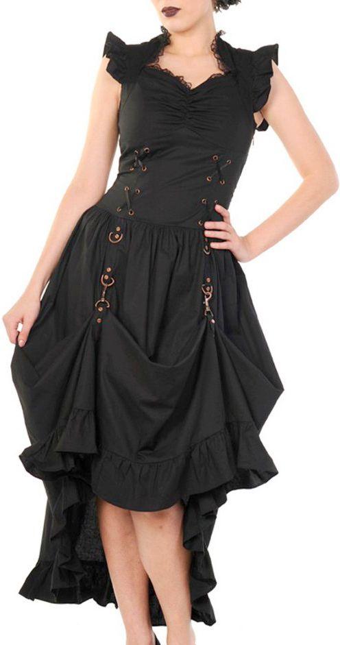 The Violet Vixen - Gothic Copper Dress, $128.00 (http://thevioletvixen.com/clothing/gothic-copper-dress/)