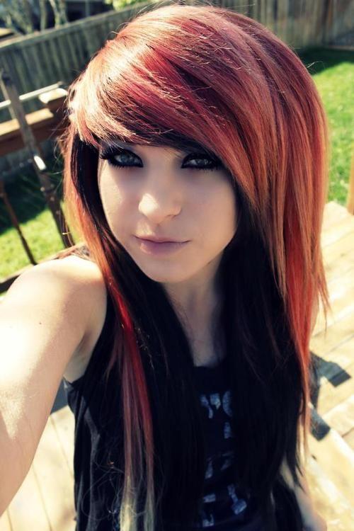 Fantastic 1000 Ideas About Emo Hairstyles On Pinterest Scene Hair Leda Short Hairstyles Gunalazisus