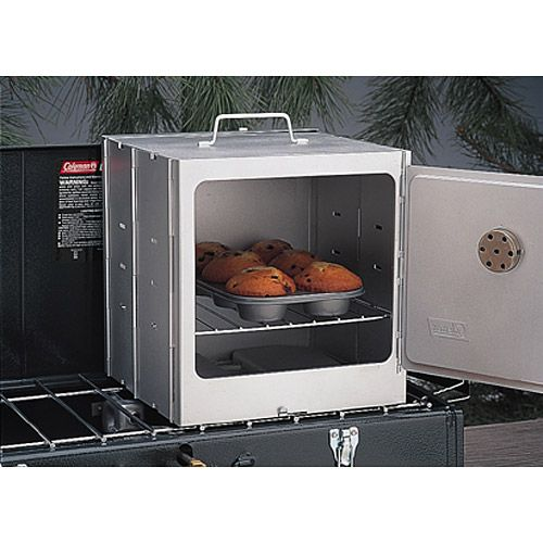 Sits on top of gas burners. Fold up flat when you're finished with it. Awesome. So getting one of these for the pop-up.