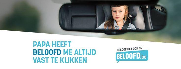 Beloofd - Kinderzitjes is een campagne van de VSV voor het correct gebruik van kinderzitjes.