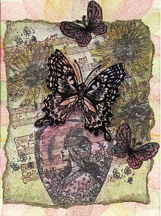 Chia's Rubber Stamp Art BUTTERFLY SWAP P2