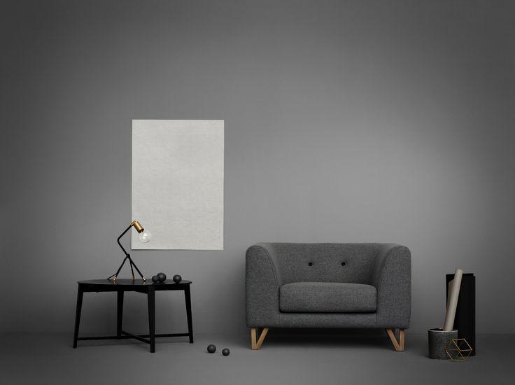 EDDIE fotel - sofacompany.com #sofacompany #sofacompanypolska #sofa #meble #wnetrza #dekoracje #fotel #eddie #stylskandynawski