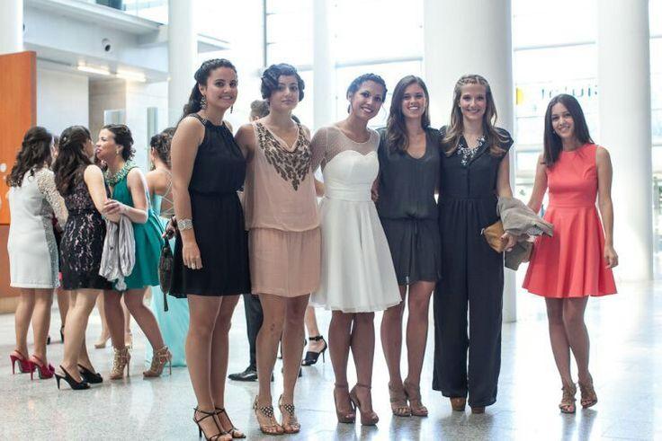 White plumeti Dress. Marta Cambronero SS 14