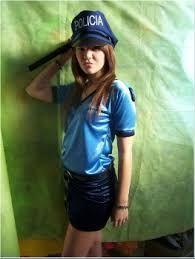 Image result for disfraz mujer policia