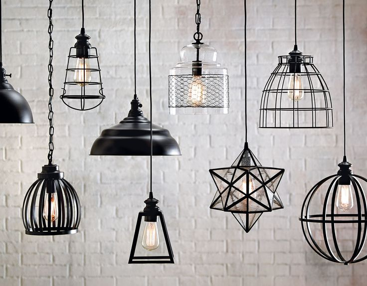 Pick a pendant, any pendant. Find the right shape and size to fit the room in your home. Pendants add an extra level of style while functioning to brighten the room.