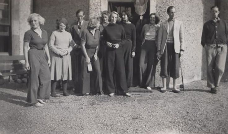 A Longstaff Longstaff house party in the highlands 1930s