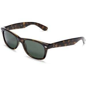 Ray-Ban RB2132-902 New Wayfarer Sunglasses,Tortoise Frame/G-15-XLT Lens,52 mm (Apparel)  http://www.womendresscode.com/prod.php?p=B000GLP4D6