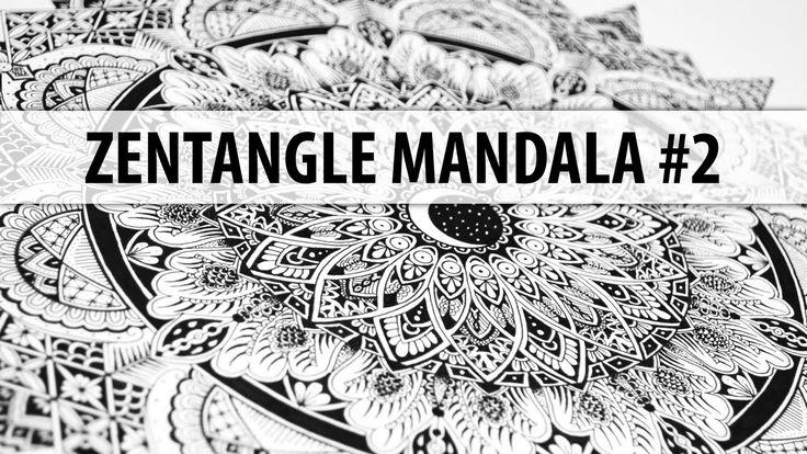 Zentangle Mandala #2