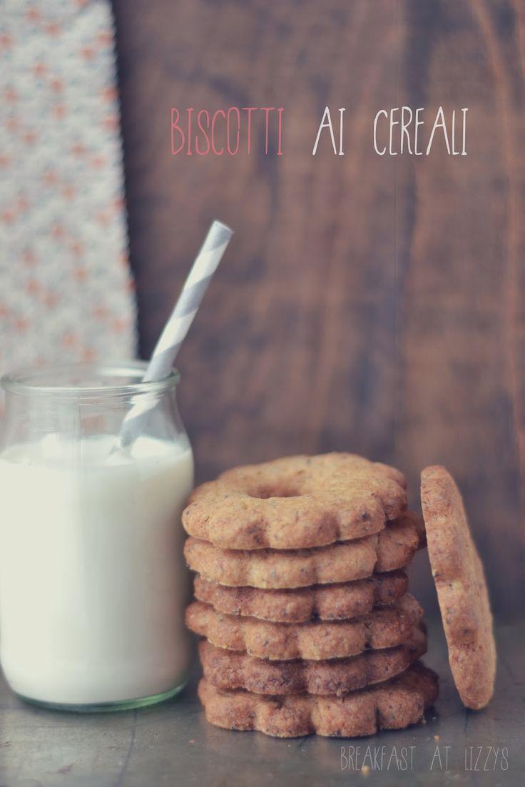 breakfast at lizzy's: Biscotti ai cereali