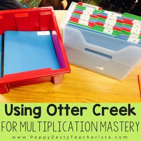 Mastering Multiplication Facts With Otter Creek