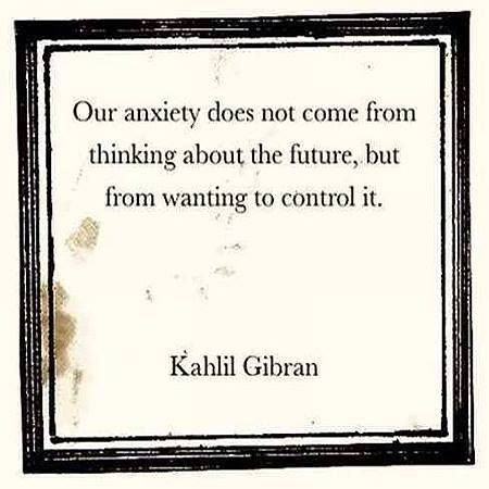 #KhalilGibran #anxiety #future
