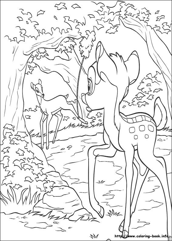 Bambi 2 Coloring Picture