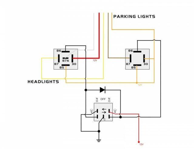 18 Auxiliary Light Wiring Diagram Wiringde Net In 2021 Automotive Electrical Electrical Wiring Diagram Auxiliary