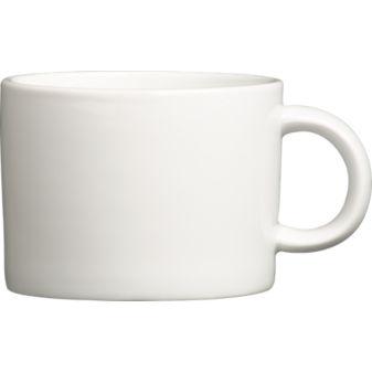 silo coffee mug in dinnerware | CB2