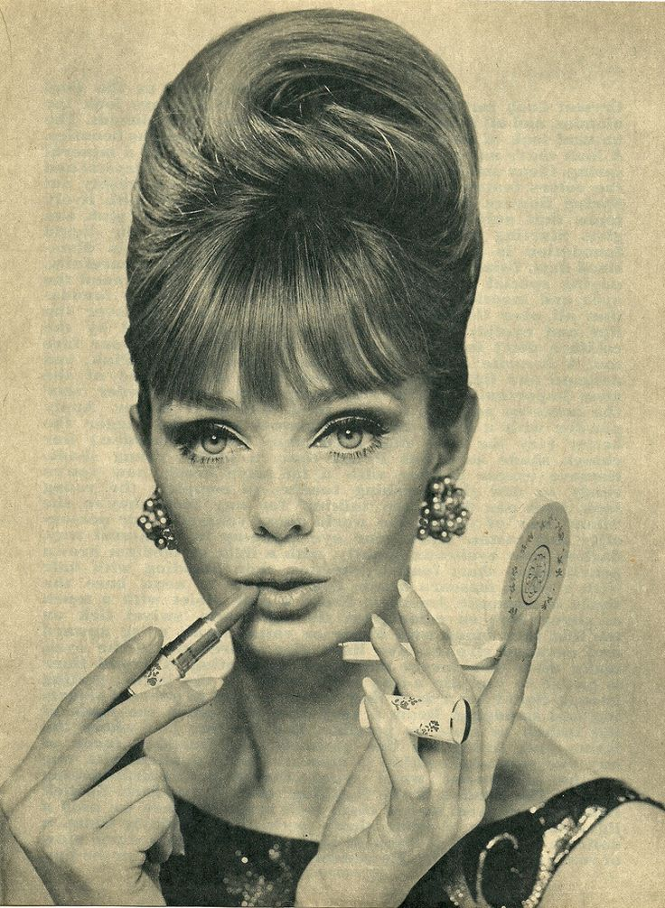 60's Hairstyles & Make-up Images On
