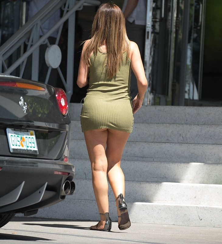 Pics: Scottie Pippen Cheating Wife Larsa Out with No Panties On! Future Smashed
