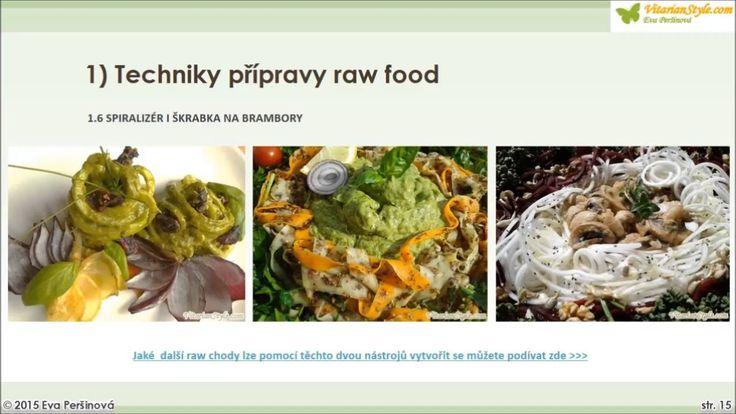 5. Základní vybavení živé stravy