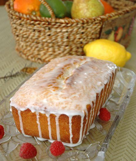 Голая Еда - Лимонный кекс на йогурте