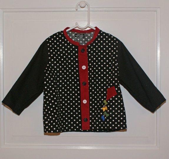 Gutteskjorte str 2-3 �r med applikasjon