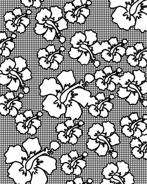 orchid flower coloring page flowers pattern coloring pages