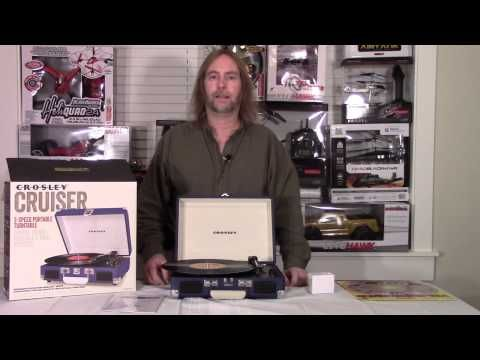 Crosley Cruiser Record Player Review by Bluefishtoys - YouTube