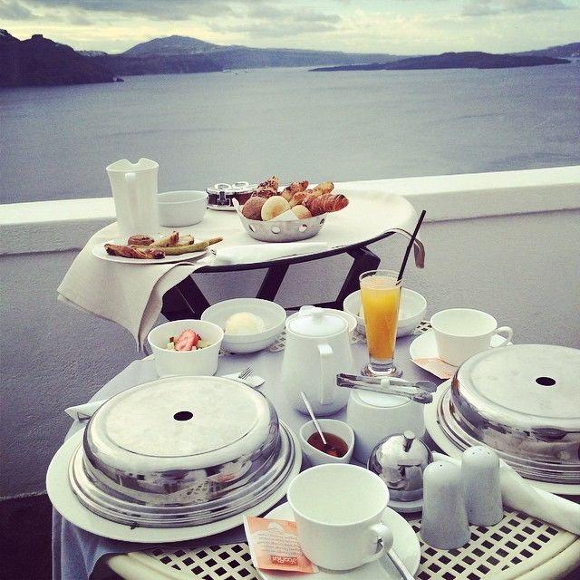 #Breakfast time with an amazing #View at #AndronisExclusive