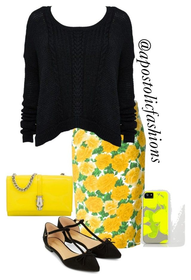 """""""Apostolic Fashions #1162"""" by apostolicfashions on Polyvore featuring Michael Kors, Alice + Olivia, Accessorize and Class Roberto Cavalli"""