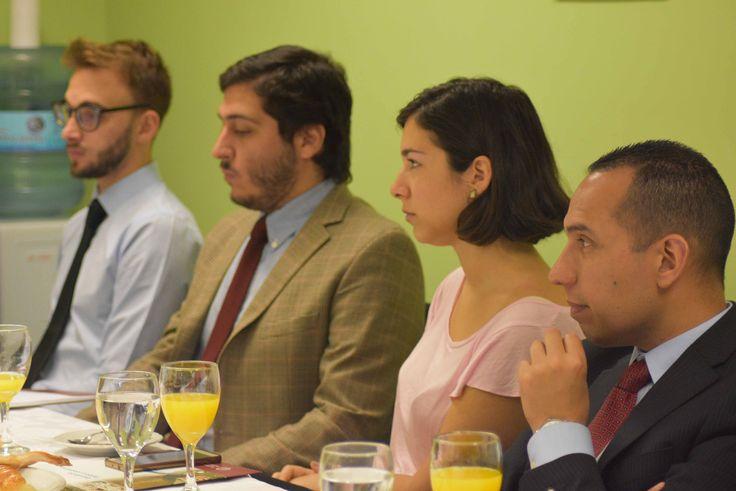 """Participamos del desayuno """"La agenda de América Latina y la Unión Europea"""" organizado por la Carrera de Ciencias Políticas de la Universidad Católica Argentina."""