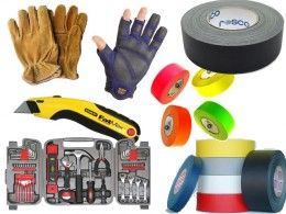 What To Put In Your Stage Manager's Kit -- I like this one for all the tools and tape it suggestions