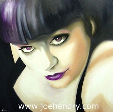 Female Portrait Art