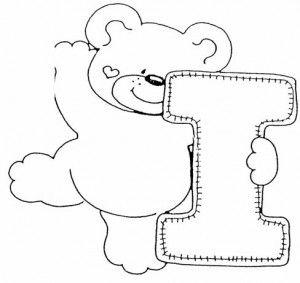 desenho alfabeto ursinhos decoracao sala de aula (9)