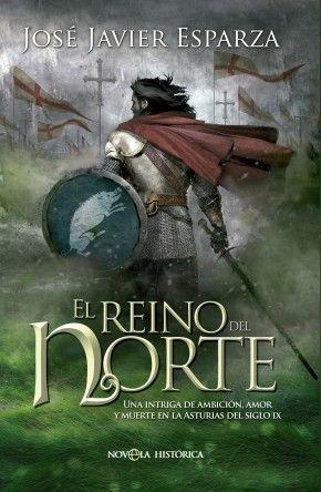 """Ilustración y diseño de la cubierta de la novela """"El Reino del Norte"""" de José Javier Esparza que he realizado para La Esfera de los Libros"""