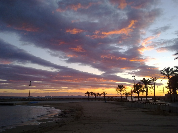 42 best images about playas de torrevieja on pinterest my house web portfolio and alicante - Piscinas naturales alicante ...