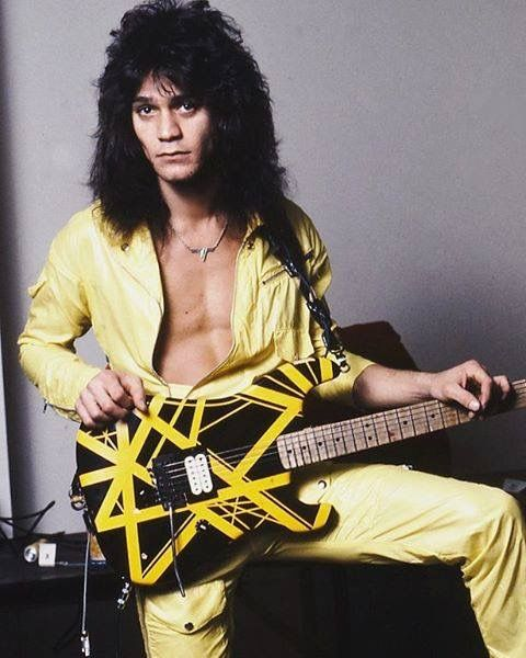 EVH Striped Series YELLOW
