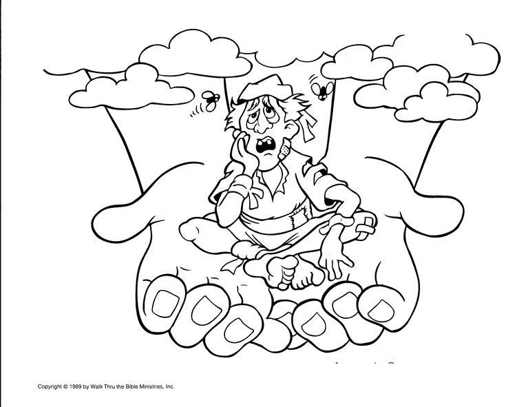 mortimers christmas manger coloring pages - photo#21