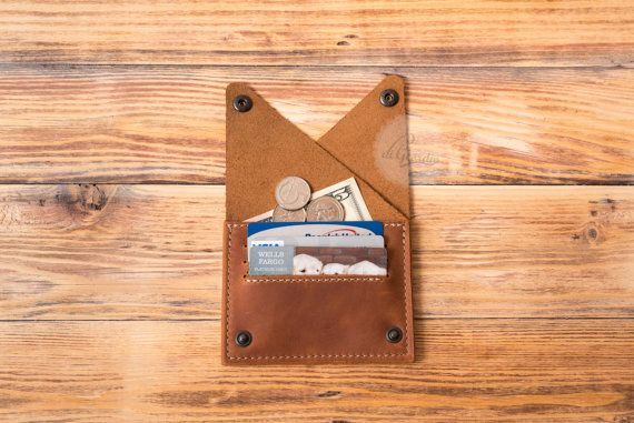 woman leather wallet woman travel wallet leather coin by DiGeordie