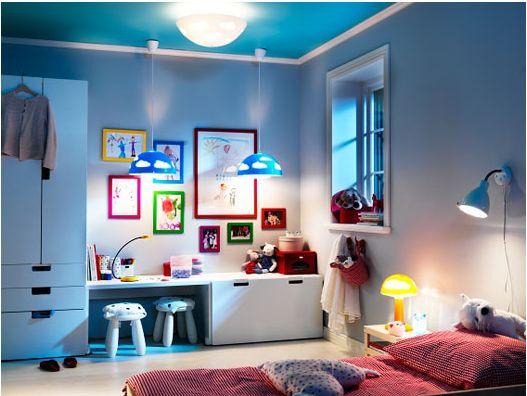 Ikea Stuva doing this in my daughters next bedroom